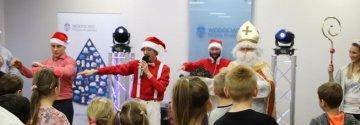 Święty Mikołaj w Wodociągach Miasta Krakowa